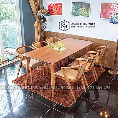 Bàn ghế ăn Classic-N-3382 1m9