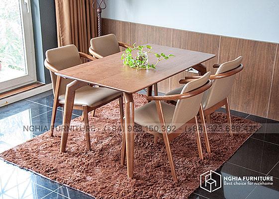 Bàn ghế ăn 901-HF2012 1m4