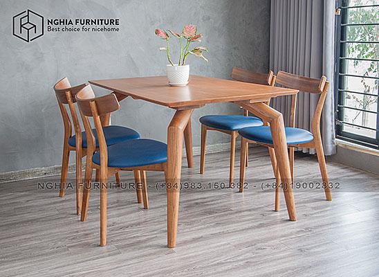 Bàn ghế ăn 901-Hiko 01 1m4