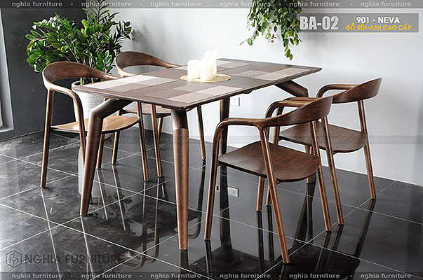 Bàn ghế ăn 901 - Neva