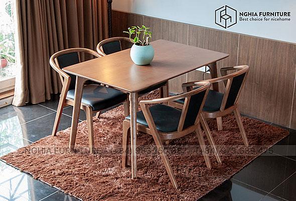 Bàn ghế ăn Classic-3382 1m4