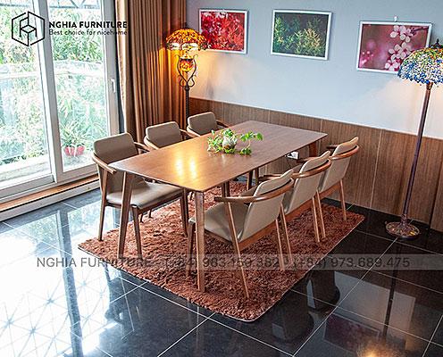 Bàn ghế ăn Classic-HF2012 1m9