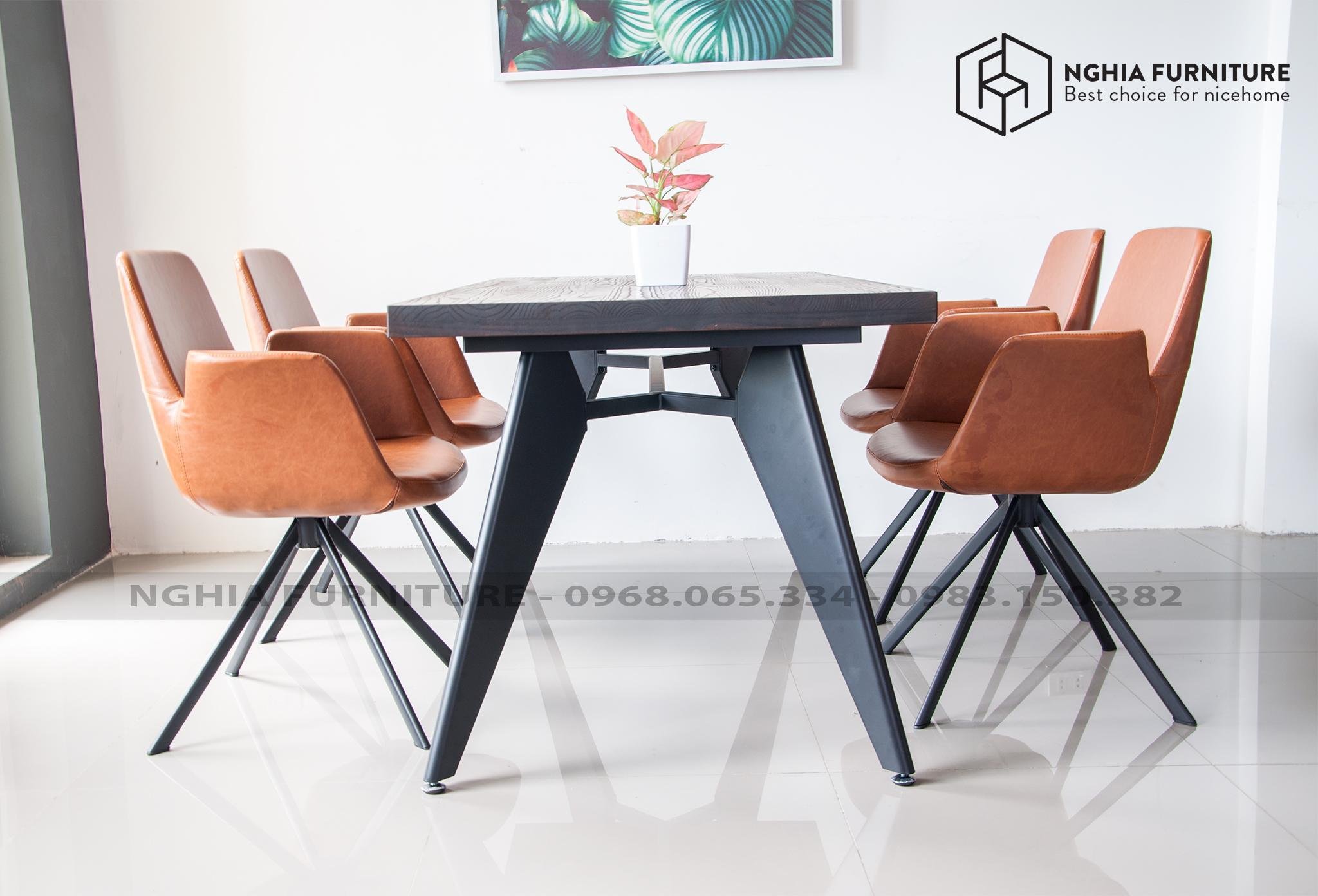 Bàn ghế ăn Slender 04-Sapoo 02