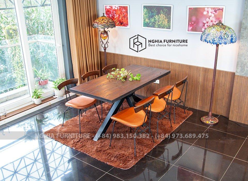 Bộ bàn ăn Slender 05-Sapoo 03 1m6