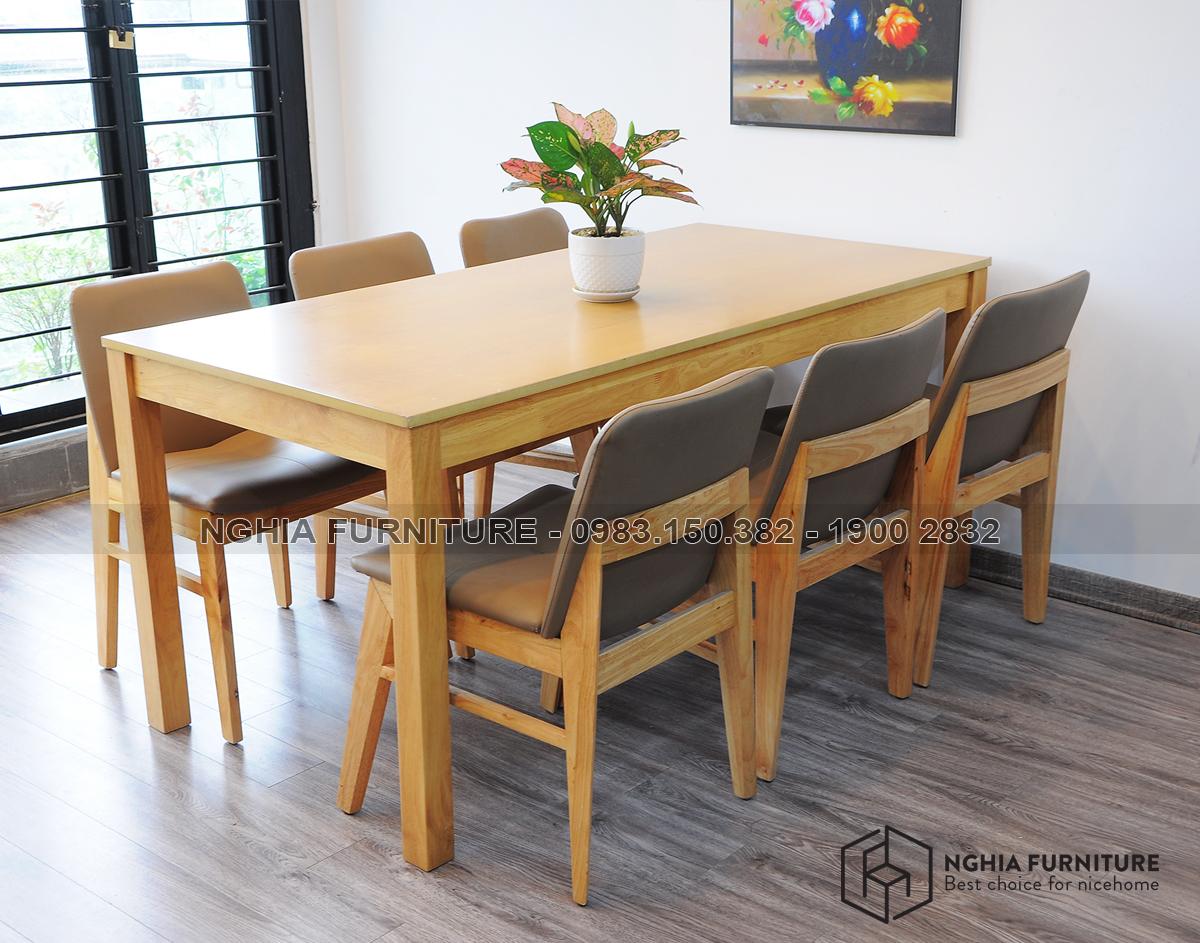 Bộ bàn ghế ăn Kudo -6