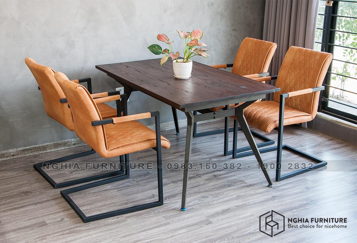 Bộ bàn ghế ăn NF3