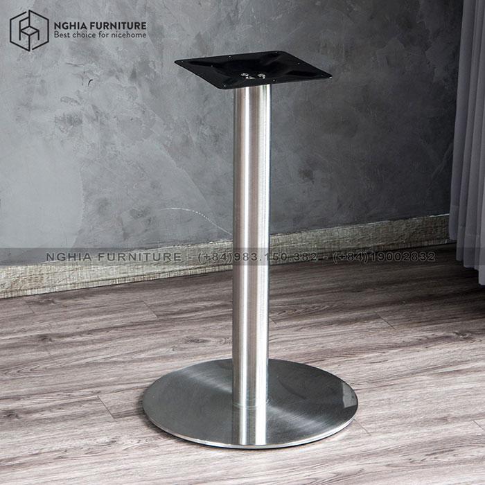 Chân bàn Cafe ALUMINUM TABLE 02